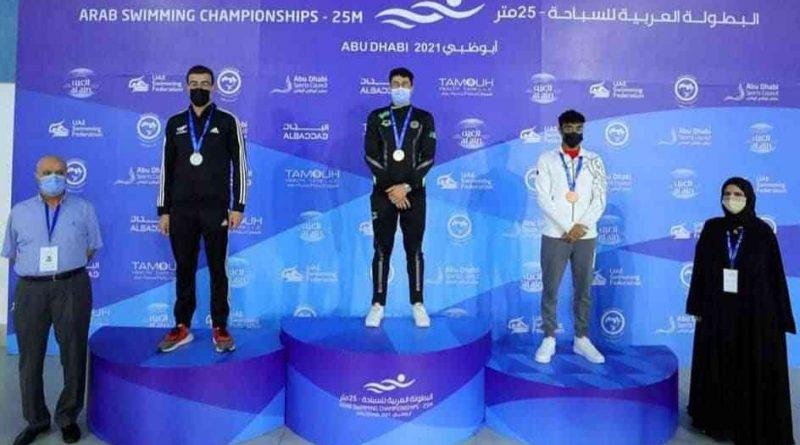 Championnat arabe de natation : Syoud et Ardjoune en or